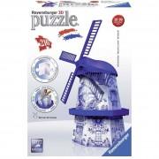 Ravensburger puzzle 3d building serie midi, mulino olandese 12519