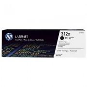 HP 312X originele high-capacity zwarte LaserJet tonercartridges, 2-pack