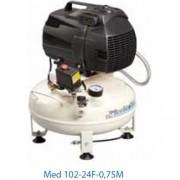 kompresor dentálny, mediciísky a laboratorny Med 102-24F-0,75M