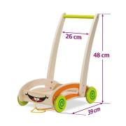 Eichhorn - Дървена количка с блокчета 100001833