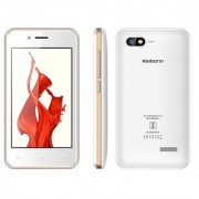 Karbonn A41 POWER 1 GB RAM 8 GB ROM White and Champagne