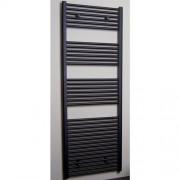 Designradiator Recht Sanicare 172x60cm 1127 Watt Antraciet Zijaantluiting