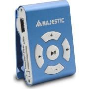 Majestic Sdb8309 Lettore Mp3 8 Gb Clip Colore Blu - Sdb8309