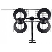Antennas Direct C2-V-CJM ClearStream 2-V Antena UHF/VHF (Interior y Exterior, Montaje de 50.8 cm), 112.65 m, Gris, n/a
