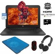 "Laptop HP Chromebook 11.6"" G5 EE Intel Celeron 32GB 4GB + KIT"