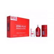 Diesel Zero Plus Masculine Gift Set-EDT 75ml + Diesel Plus Plus Masculin EDT 30ml + Stick 75gr