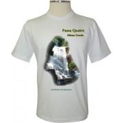 Camiseta Passa Quatro Cachoeira da Gomeira - Coleção Passa Quatro - MG