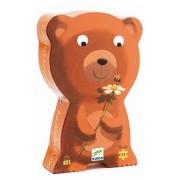 Djeco / Shaped Box Puzzle, Go To Sleep Baby Bear