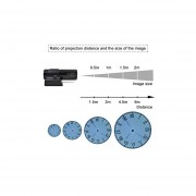 Reloj Proyector Led-Negro