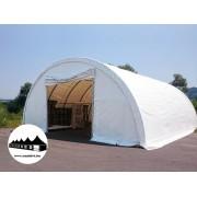 Hangár 9,15x12m 4,5m magas / 720g/m2 PVC / Tűzálló (Hangár)