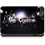 VI Collections Be Creative Lightings Printed Vinyl Laptop Decal 15.5