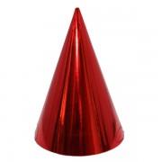 Kicsi kalap, fényes, piros 6 db/cs
