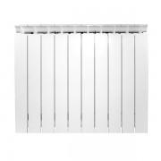 Radiator aluminiu Lipovica Solar 600/80, 8 elementi, 1400 W, Alb, Fabricat in Croatia, Garantie 20 de ani