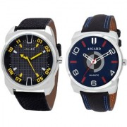 ASGARD Trendy Analog Multi-Colour Dial Watches for Men-Set of 2 BT-603
