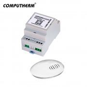 Termostat COMPUTHERM B300RF Wi-Fi cu senzor de temperatura fara fir, Timer, Control telefon mobil, Distribuire control acces