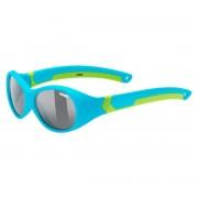 Uvex Occhiale sole Uvex Sportstyle 510 (Colore: blue-green mat, Taglia: UNI)