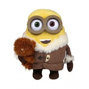 Simba Minions Plush Toy - Ice Age with Bear, Multi Color