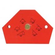 Mágneses sokszög összeillesztéshez 108×89mm 20kg teherbírás SK Kód:222917