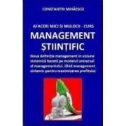 Afaceri Mici si Mijlocii Curs Management Stiintific - C-tin Mihaescu