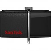 USB DRIVE, 64GB, Sandisk Ultra Dual, OTG, Black (SDDD2-064G-GAM46)