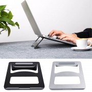 Draagbare Vouwen Aluminium Notebook Laptop Cooling Pad Holder asus Lenovo Samsung Apple MacBook Pro Air Besegad