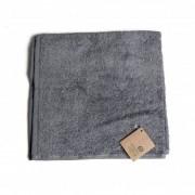 Dille&Kamille Essuie-mains, coton bio, gris foncé, 50 x 50 cm