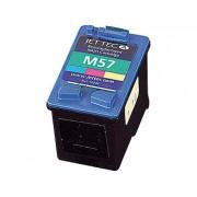 Recycled Cartridge für HP (ersetzt C6657AE No.57), color HC 24ml | Druckerpatrone