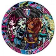 Monster High parti tányér - 10 darabos