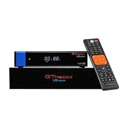 GTMEDIA V8 Nova Receptor de satélite Digital Full HD 1080P DVB-S2 FTA H.265, PowerVu, Biss Key, WiFi Integrado