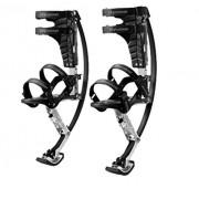 Jump-bird Jumping Stilts Pogo Stilts88-132lbs/40-60kg Black