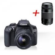 Огледално-рефлексен фотоапарат Canon EOS 1300D + EF-s 18-55 mm DC III - AC1160C009AA