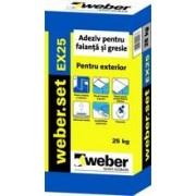 Adeziv gresie Weber.set EX25