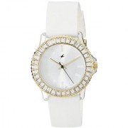 Fastrack Hip Hop Analog White Dial Womens Watch - 9827Pp01