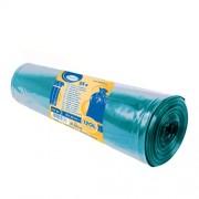 Vrecia na odpadky modré 70x110cm, 120 l, Typ 50 [25 ks]