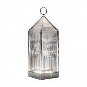 Kartell Lantern LED, fumé