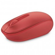 Microsoft Wireless Mbl Mouse 1850 Red