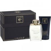 Lalique Pour Homme Lion Комплект (EDP 125ml + SG 150ml) за Мъже