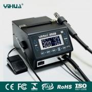 YIHUA 993D - професионална станция за горещ въздух и вакуум маркуч за ремонт на мобилни устройства и електроника
