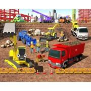 Tapet Walltastic - Santierul de constructii