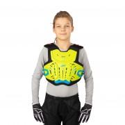 Leatt Brustschutz Leatt 2.5 Junior Lime-Blau Kinder