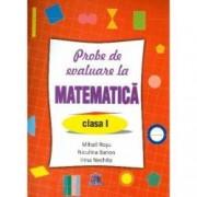 Probe de evaluare la matematica clasa I