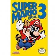 Merkloos Grote deurposter van Nintendo Mario Bros