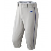 New Balance Men's Charge Baseball Piped Knicker Grey with Blue