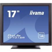 Ekran s dodirnim zaslonom 43.2 cm (17 Zoll) Iiyama T1731SR-B1 1280 x 1024 Pixel 5:4 5 ms VGA, DVI