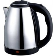 Elegantshopping 360 Degree Rotation Automatic Cordless Kettle, Stainless Steel Multipurpose 1.8 Liters Electric Kettle(1.8 L, Silver, Black)