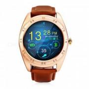 """""""KICCY K89 1.2 """"""""Bluetooth v4.0 monitor de ritmo cardiaco Smart Watch - de oro"""""""
