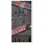 Merkloos Horror deur scenesetter/deurposter Halloween 76 x 152 cm