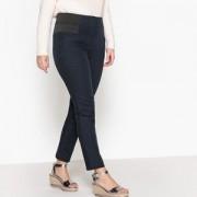 Slim broek met hoge taille