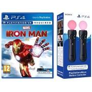 Marvels Iron Man VR - PS4 + 2x PS Move mozgásvezérlő