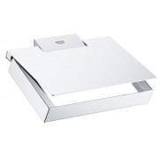 Suport hârtie igienică Grohe Selection Cube- 40781000